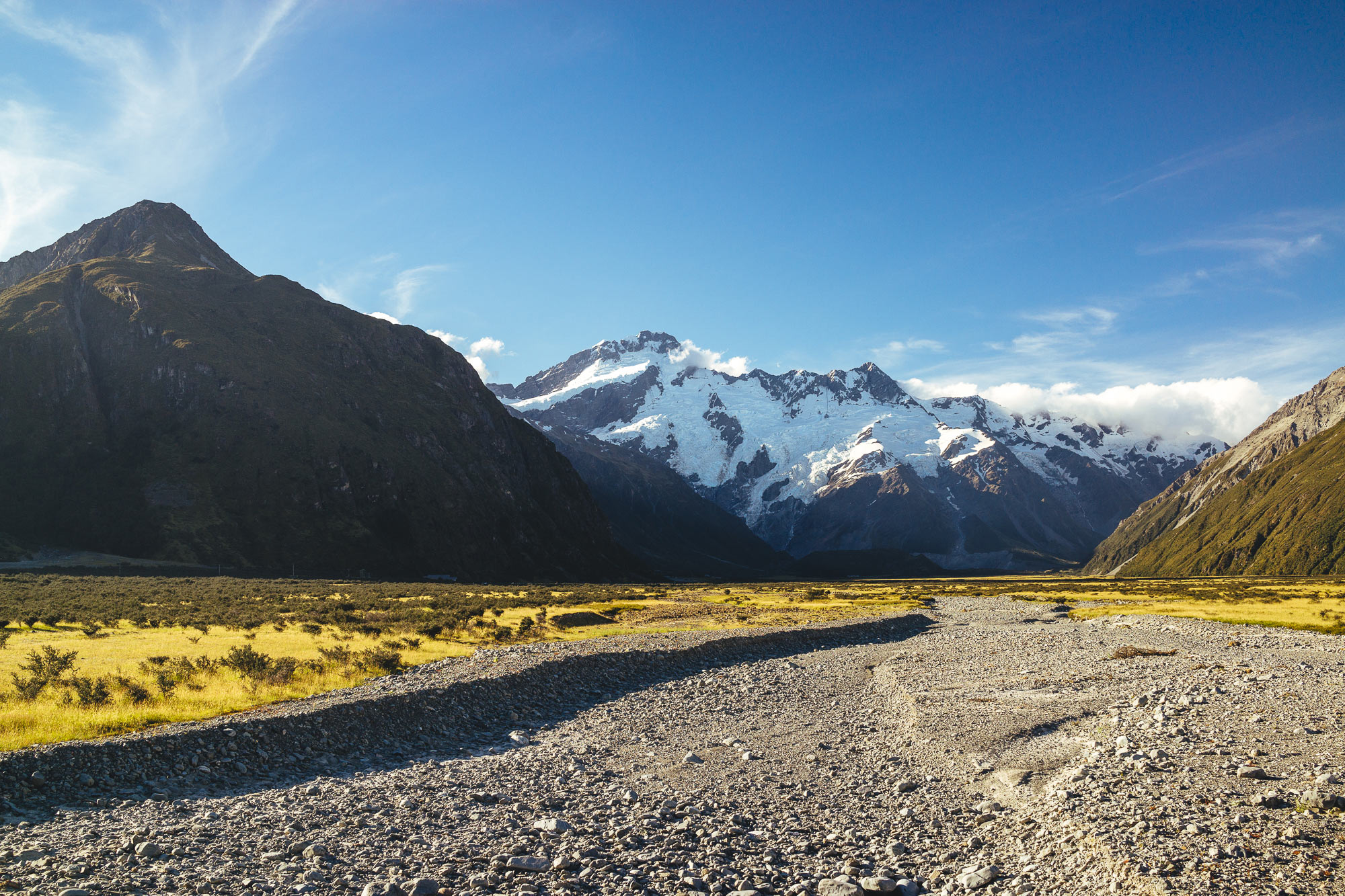 River Bed at Mt Cook National Park, NZ