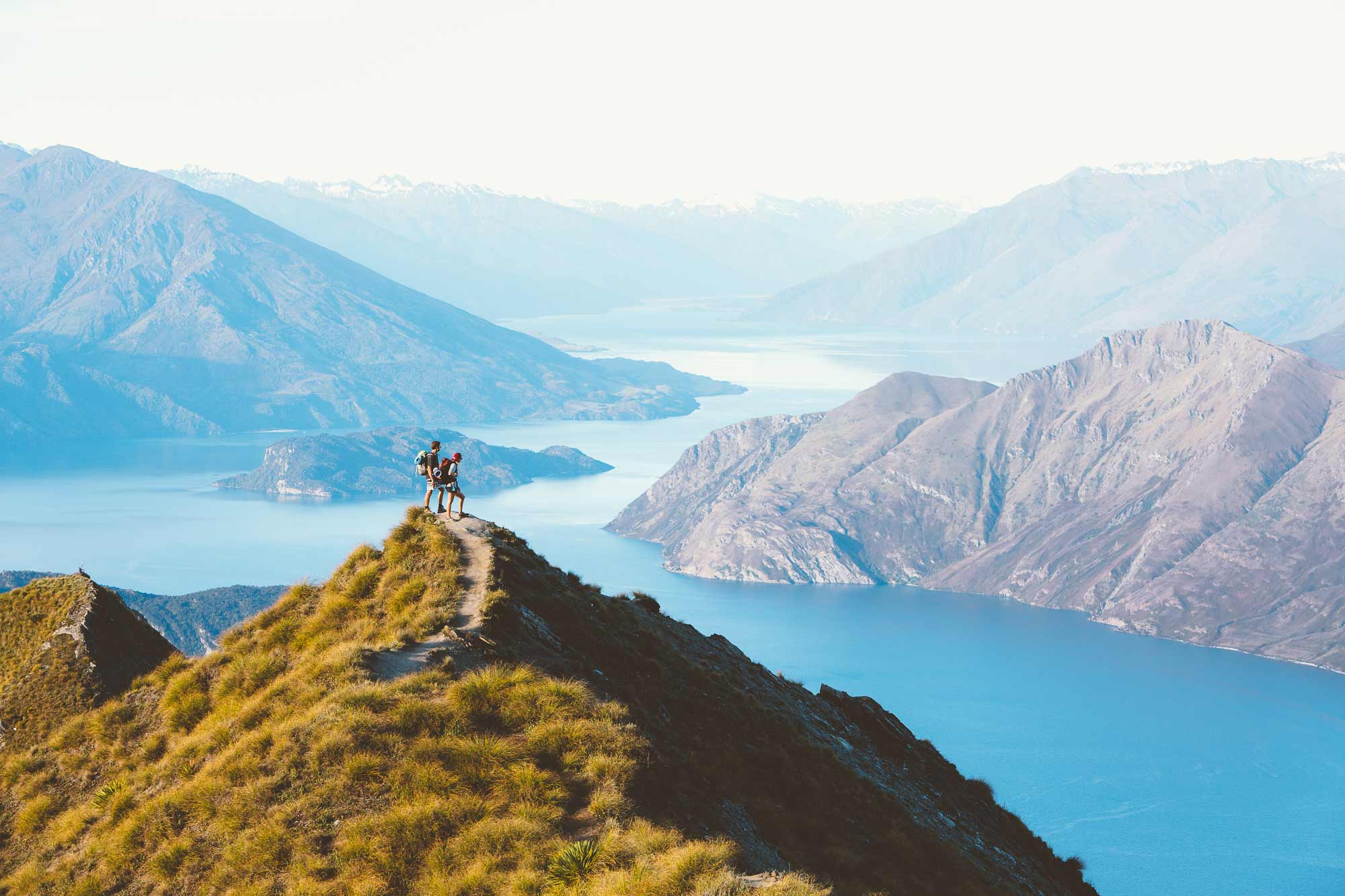 Hiking up Mt roy for the best view over Wanaka