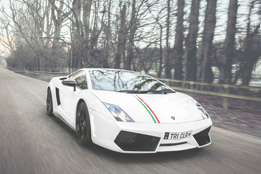 Lamborghini Gallardo in Queenstown, Commercial Photography