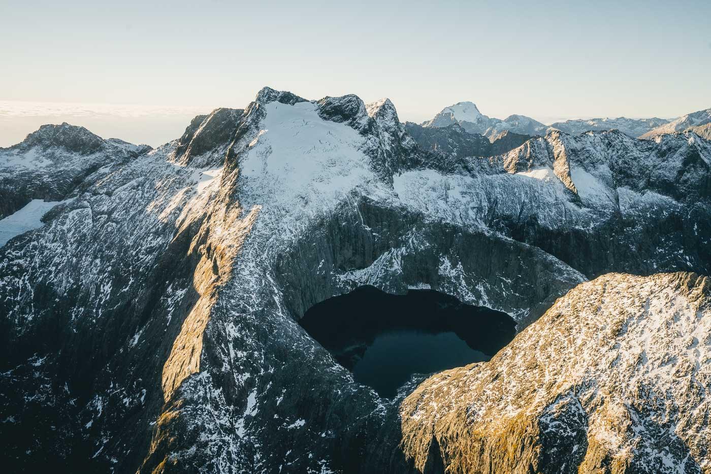 Flight to Milford Sound, NZ