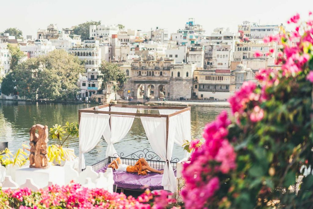 Relaxing in Udaipur luxury, India