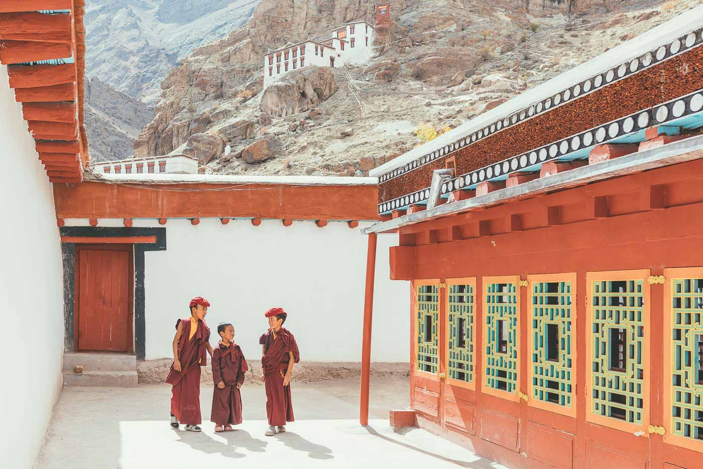 Budha in Monastery in Ladakh India