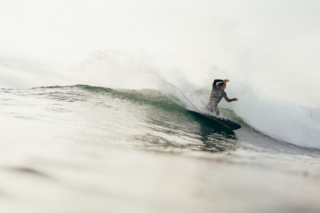 Surfing in Taghazout, Morocco